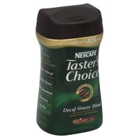 Nescafe taster's choice decaf house blend instant coffee, 7 oz