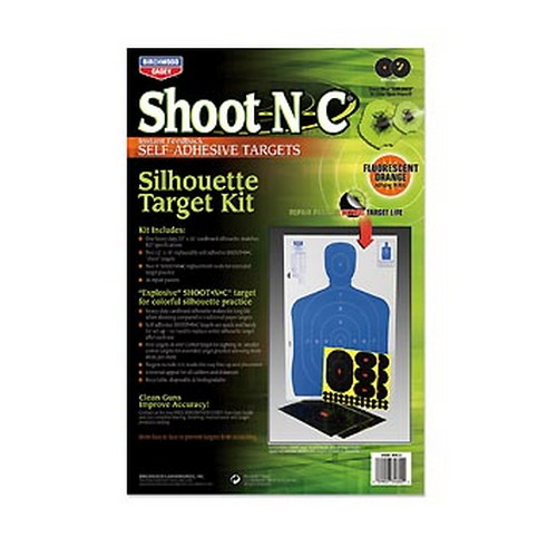 "Shoot•N•C® 12"" x 18"" Silhouette Kit 2-12"" x 18"", 2-9"", 6-4"""
