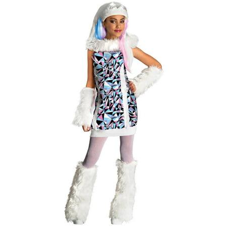 Rubies Abbey Bominable Monster High Girls Child Halloween Costume   Small - Monster High Halloween Costume Uk