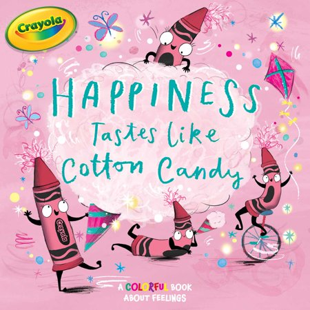 Happiness Tastes Like Cotton Candy (Crayola Candy)