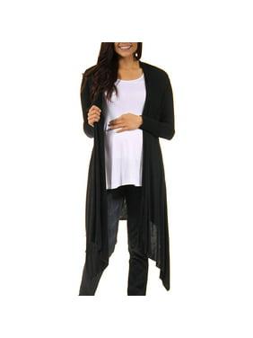 Women's Flowing Long Sleeve Maternity Shrug