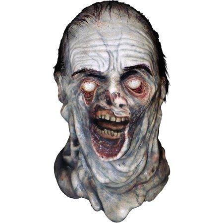 Amc Walking Dead Mush Walker Full Head Mask  Grey  One Size