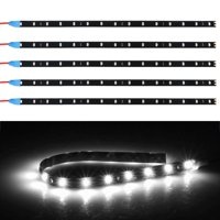 6-pack Waterproof Flexible 2W DC12V LED Strip Underbody Light For Car Motorcycle