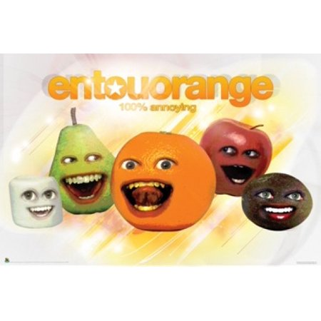 Annoying Orange Entouorange Poster Poster Print