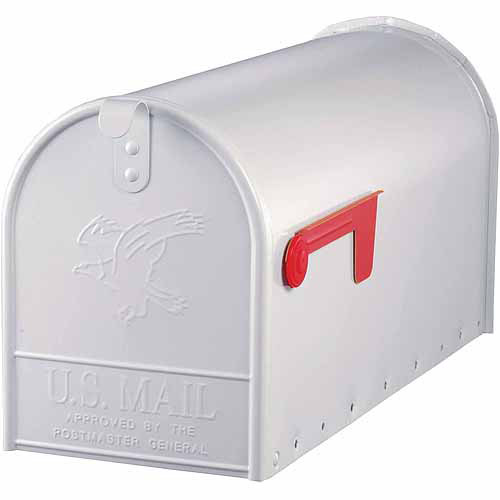 Solar Group Inc E16W Large White Rural Size Mailbox