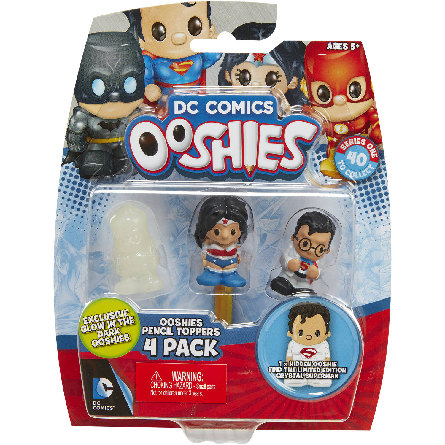 Ooshies Justice League 4-Packs #2