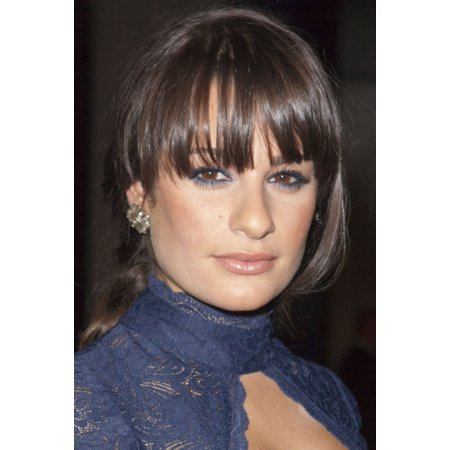 Lea Michele At Arrivals For American Horror Story Premiere Rolled Canvas Art     8 X 10