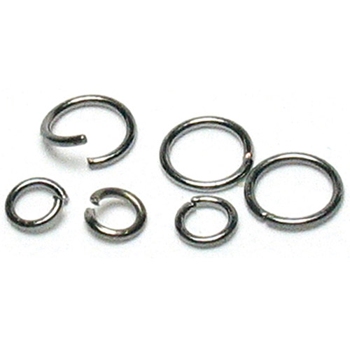 Cousin Jewelry Basics Metal Findings Jump Rings, 4mm to 6mm, 400pk