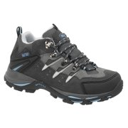Adtec Women's Suede Leather Upper Hiker Boot, Grey/Blue - 6 M