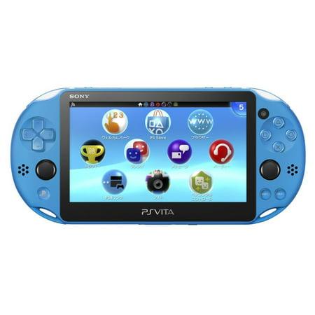 Playstation Vita Wi Fi Model Aqua Blue  Pch 2000Za23  Japanese Ver  Japan Import