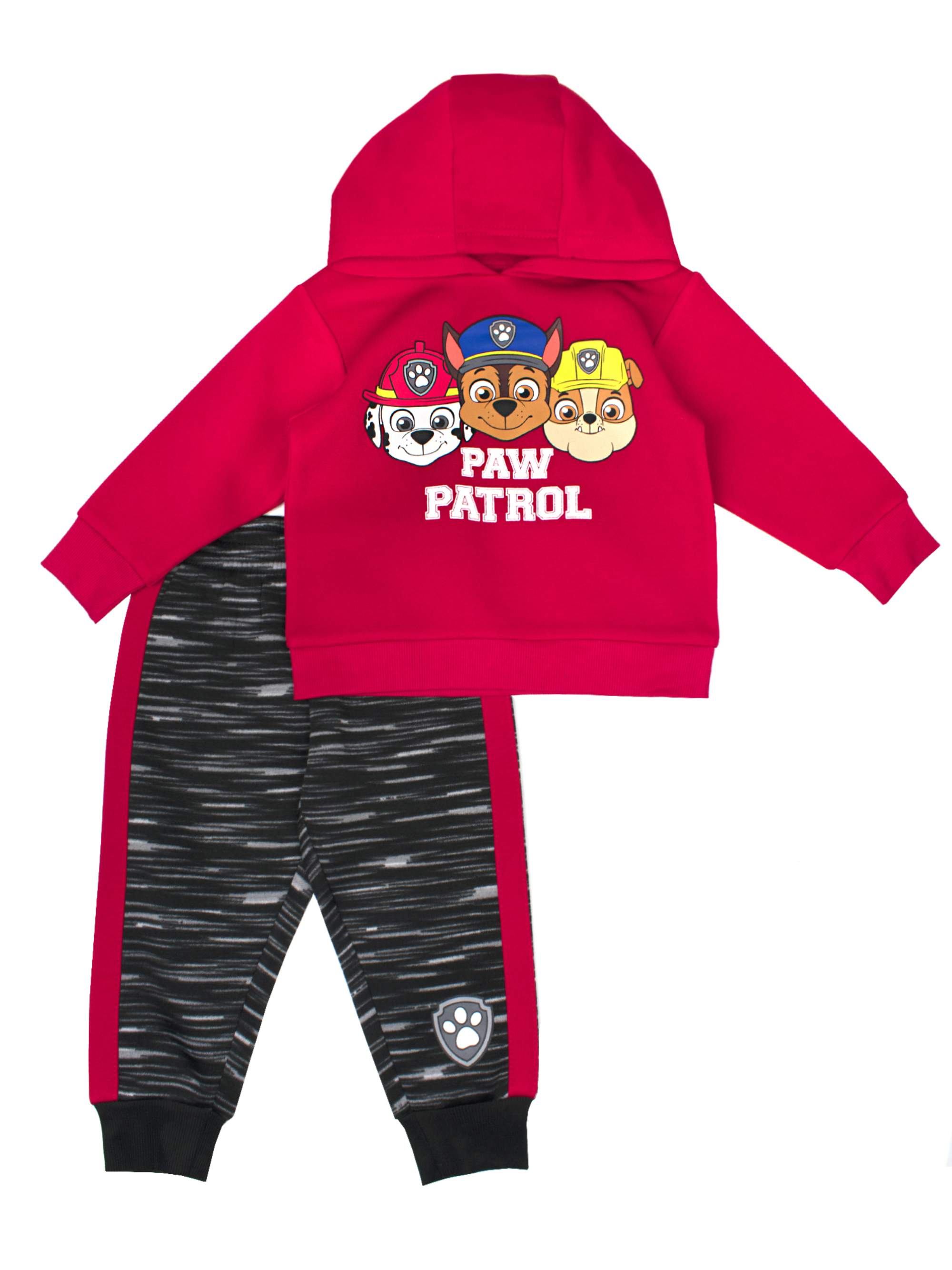 PAW Patrol Pullover Hoodie Sweatshirt & Jogger Pants, 2pc Outfit Set (Toddler Boys)