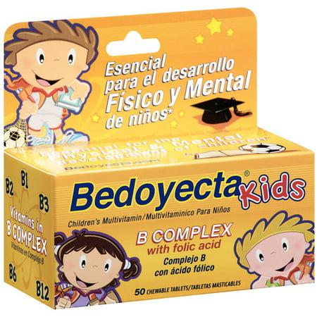 Bedoyecta Complexe Enfants B Supplément multivitamines comprimés à croquer, 50ct