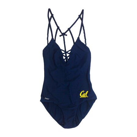 University of California, Berkeley Crisscross One Piece Swimsuit - Swimwear