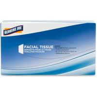Genuine Joe 2-ply Facial Tissues, Pack of 30