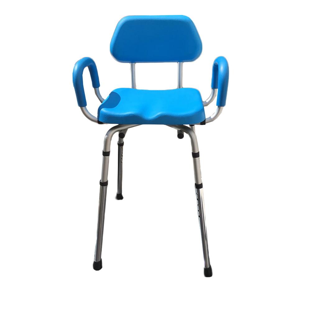 Platinum Health HIP CHAIR APEX(tm) Bath Shower Chair Padded ADJUSTABLE HEIGHT &