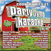Various Artists - Party Tyme Karaoke - Country Hits 21 - CD