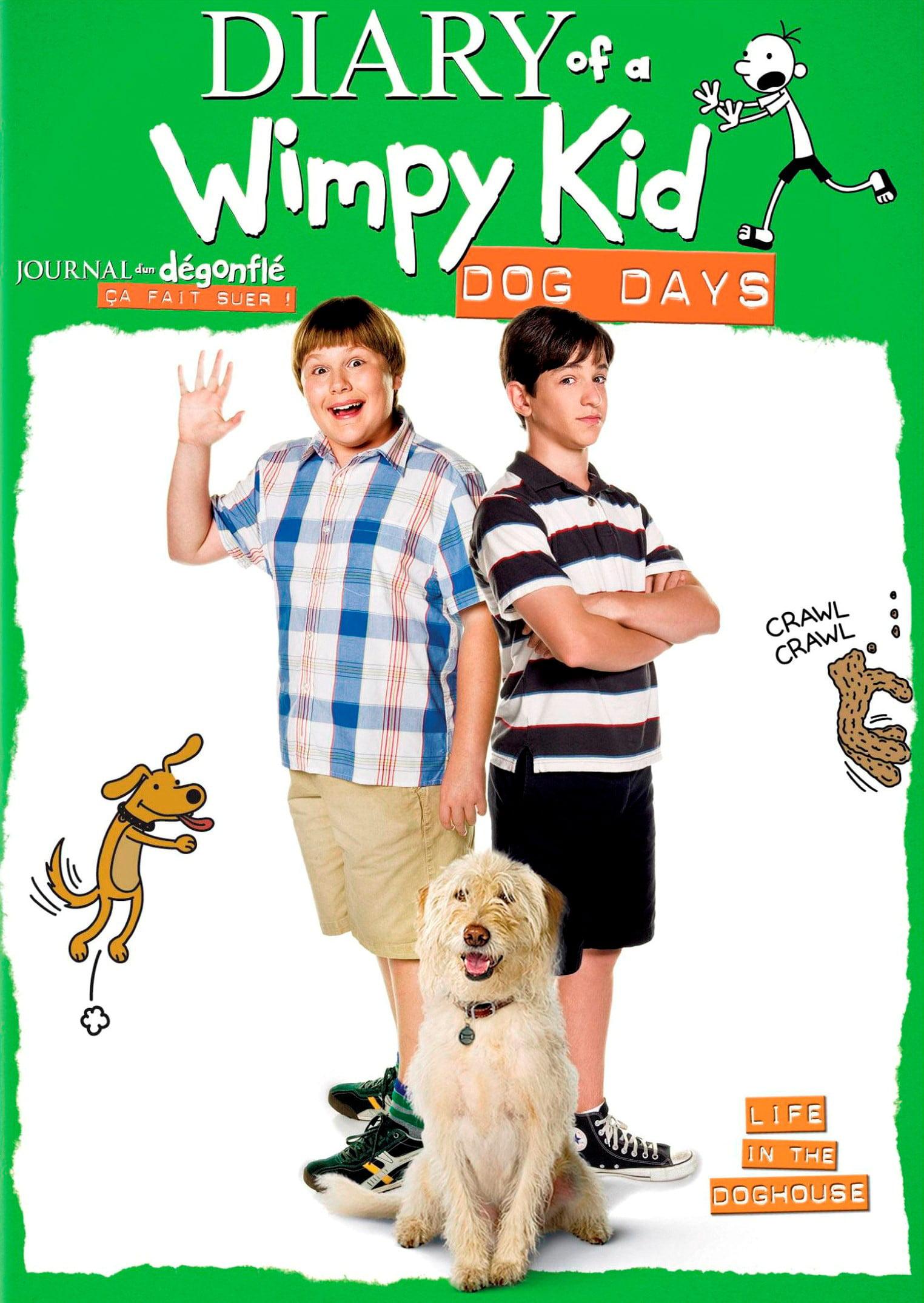 Diary Of A Wimpy Kid Dog Days Dvd Canadian Walmart Com
