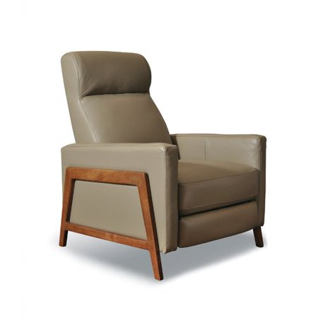 Corrigan Studio Corby Leather Manual Recliner
