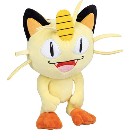"Wicked Cool Pokemon 8"" Plush Stuffed Toy Doll- Meowth"