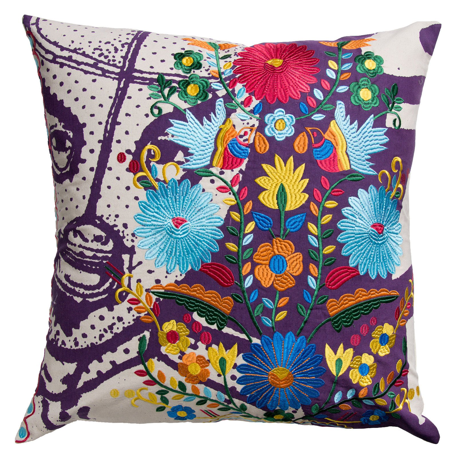 Koko Company 26 in. Mexico Square Pillow