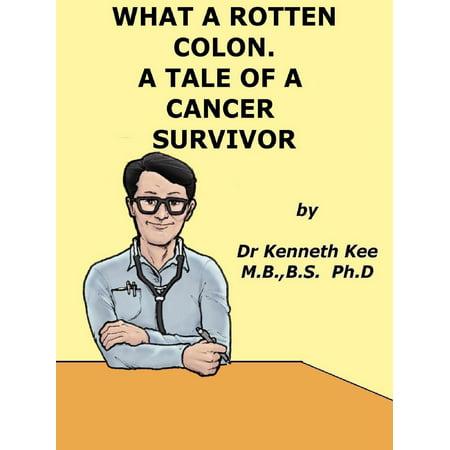 What A Rotten Colon! A Story Of A Cancer Survivor - - Colon Cancer Bracelets
