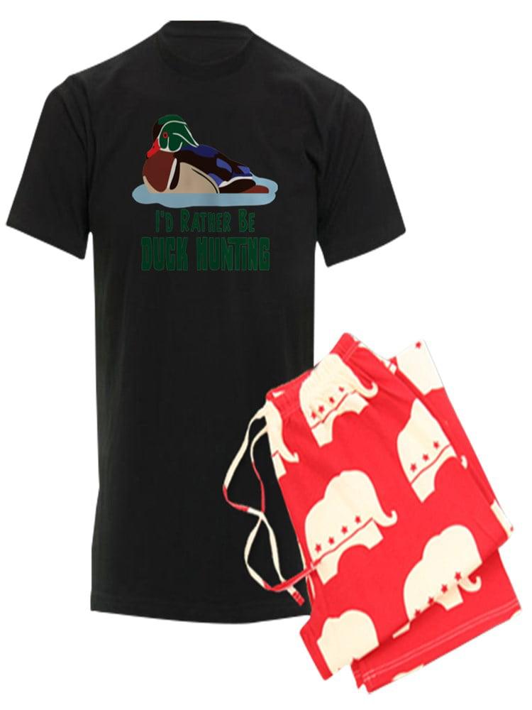 3ca108327 CafePress - ID RATHER BE DUCK HUNTING Pajamas - Men's Dark Pajamas -  Walmart.com