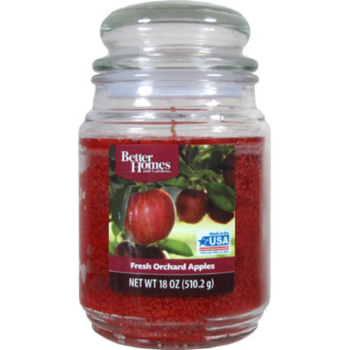 Better Homes and Gardens 18-Ounce Scented Candle, Fresh Picked Apples