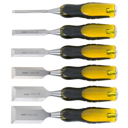 STANLEY FatMax 16-971 6-Piece Short Blade Chisel (Fatmax Masons Chisel)