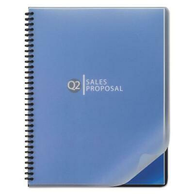 Design View Binding System Covers, 11-1 4 x 8-3 4, Frost, 25 Pack by