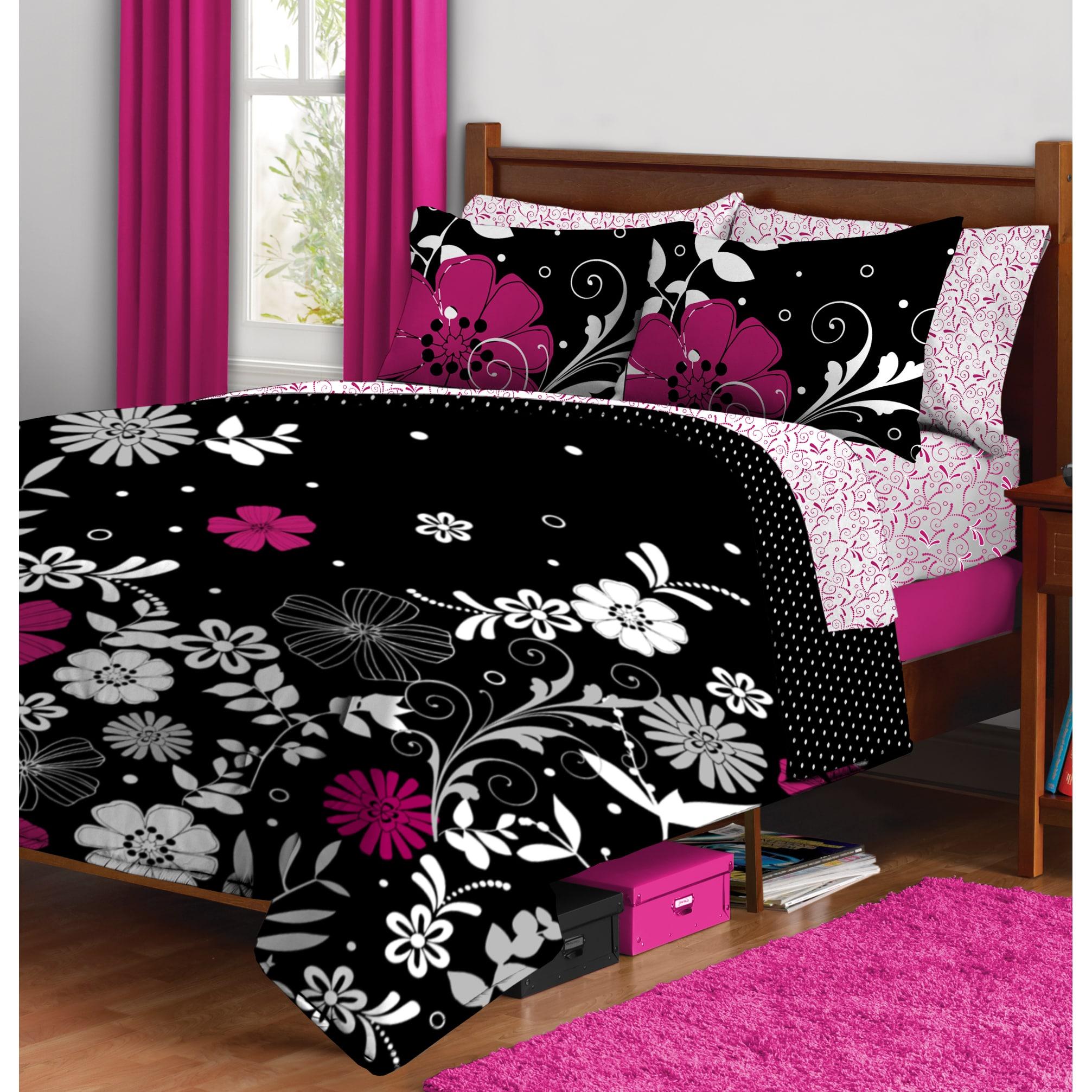 Idea Nuova Formula Twilight Garden 7-piece Bed in a Bag with Sheet Set