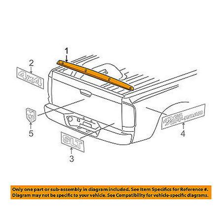 Dodge CHRYSLER OEM 06-08 Ram 1500-Spoiler / Wing Kit 55112047AC