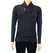 INC NEW Black Mens Size Small S Shawl Collar Pullover Knit Sweater