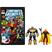 Marvel Universe Thanos and Adam Warlock Figure Comic Pack