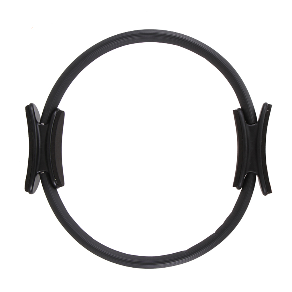 GOGO Pilates Exercise Fitness Ring Magic Circle for Toning Thighs and Legs Grey