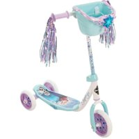Huffy 28618 Wide Deck 3 Wheeled Disney Frozen Girls Scooter for Ages 3 and Over