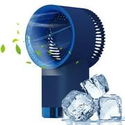Desktop Air Cooler Fan Usb Powered 3 Speeds Misting Fan Quiet Fan Air Cooling Fan Humidifier for Home Room Office