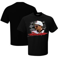Dale Earnhardt Checkered Flag Intimidator T-Shirt - Black