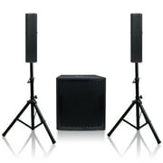 Best Line Array Speakers - Sound Town Subwoofer and Column Speaker Line Array Review