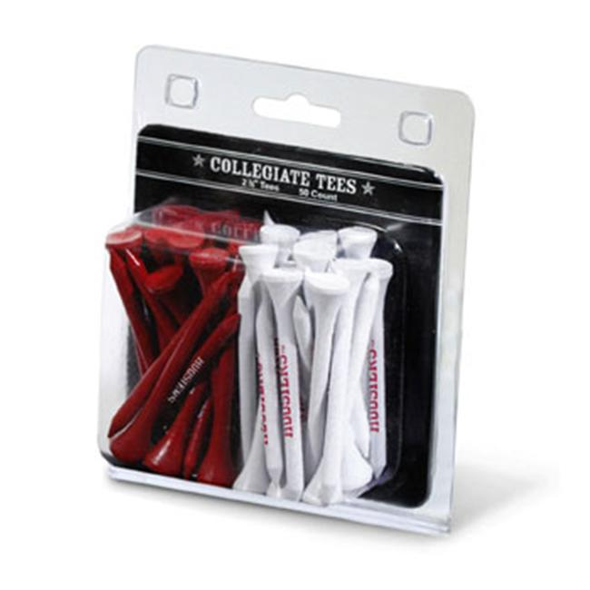 Team Golf 21455 Indiana University 50 Imprinted Tee Pack - image 1 of 1