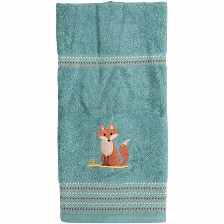 Mainstays Kids Woodland Creatures Hand Towel, 1 Each
