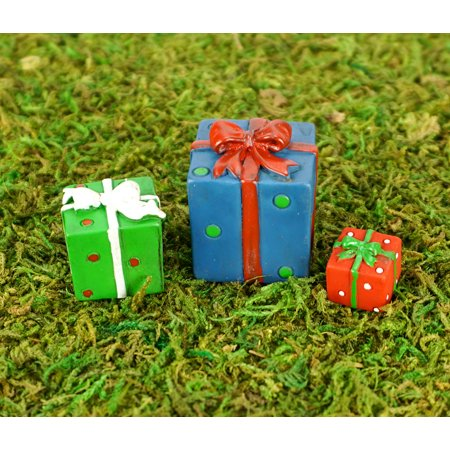 Fairy Christmas Presents (set of 3) by Wholesale Fairy Gardens - Wholesale Christmas Accessories