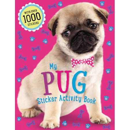 Pug Sticker Activity Book](Halloween Activity Ideas)