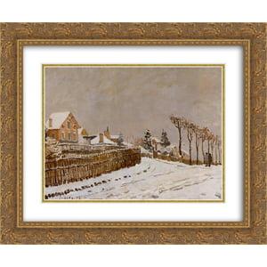 Alfred Sisley 2x Matted 24x20 Gold Ornate Framed Art Print