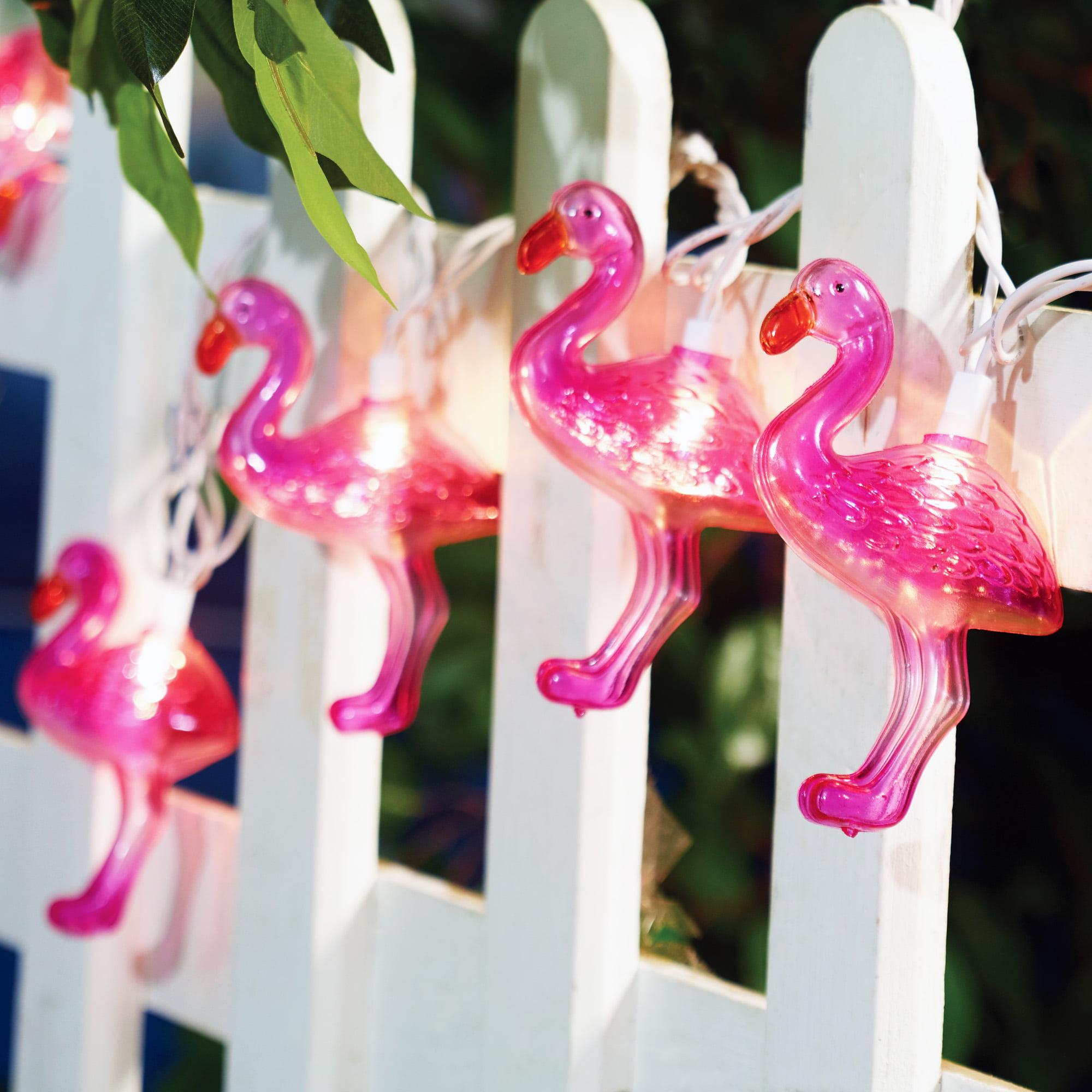 Mainstays 20 (10x2) Ul Flamingo String Lights