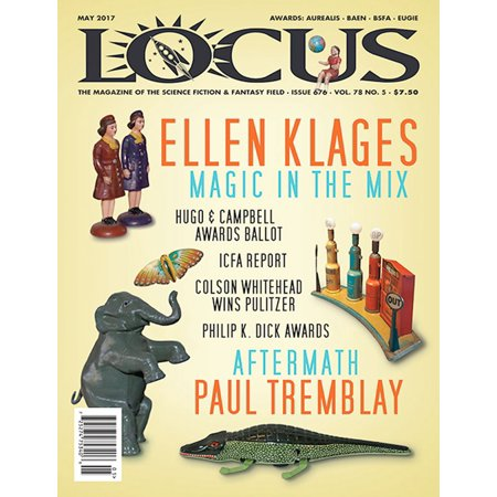 Issue Slam Magazine - Locus Magazine, Issue #676, May 2017 - eBook