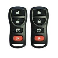 2 S&I Remotes Keyless Entry Remote Control Car Key Fob Replacement for KBRASTU15 (Black),S&I Remotes