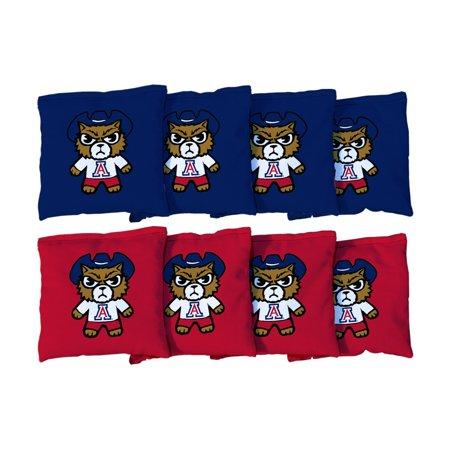 Arizona Wildcats 8-Pack Tokyodachi Design Regulation Corn Filled Cornhole Bags - No Size