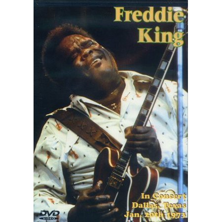 Freddie King in Concert: Dallas, Texas January (DVD) (Buttons In Dallas)