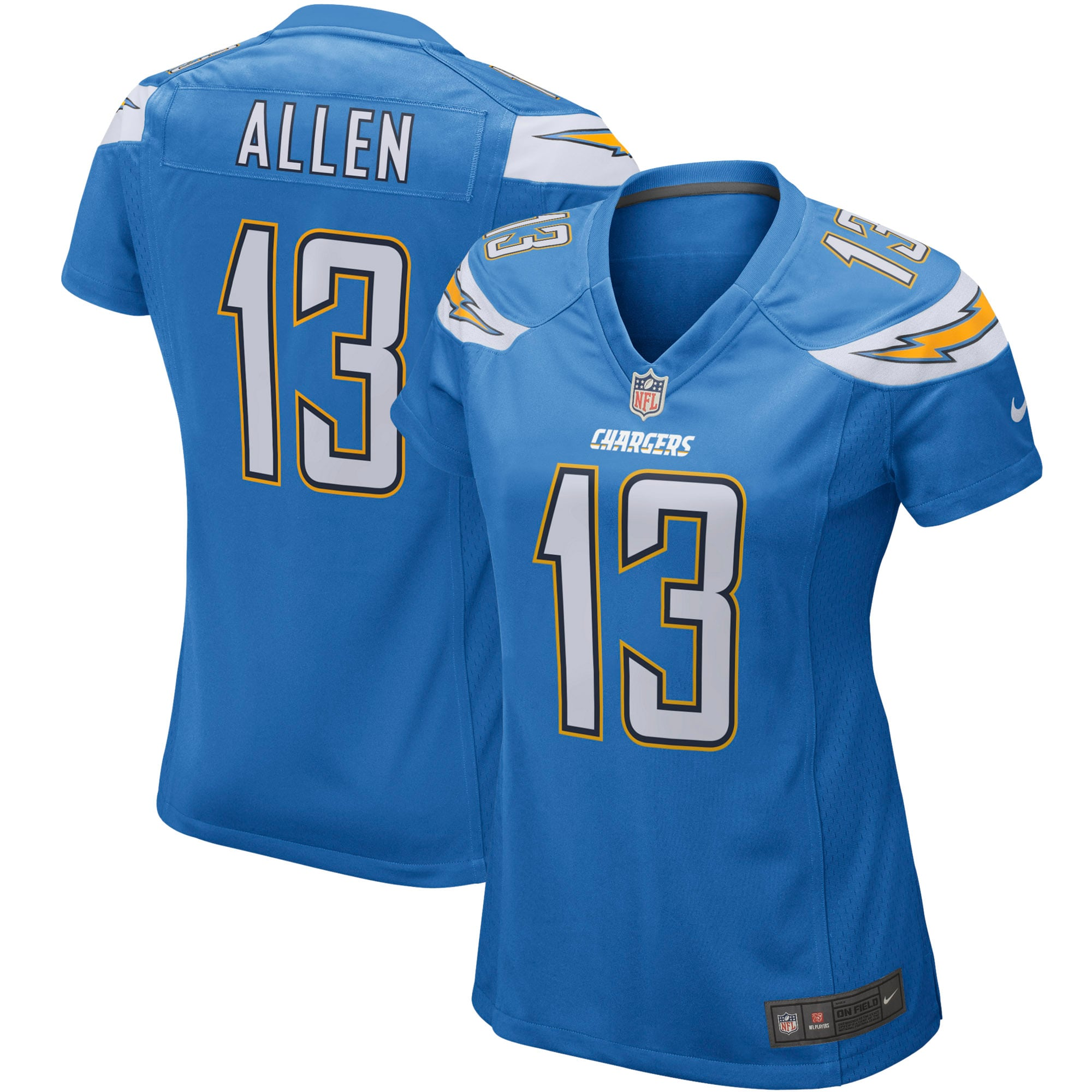 Keenan Allen Los Angeles Chargers Nike Women's Game Player Jersey - Powder Blue