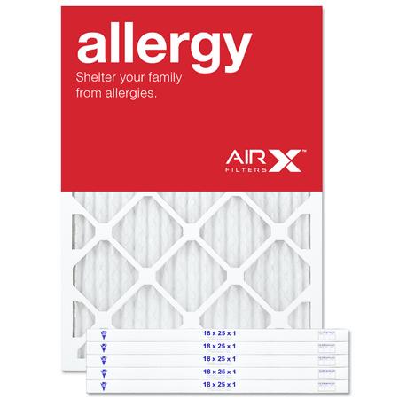 Airx Filters Allergy 18x25x1 Air Filter Merv 11 Ac Furnace